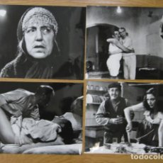 Cinema: BRUJA MAS QUE BRUJA - 4 FOTOS B/N ORIGINALES - MARY SANTPERE FERNANDO FERNÁN GÓMEZ. Lote 219116935