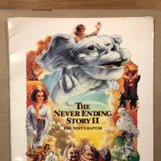 Cine: LA HISTORIA INTERMINABLE 2 (THE NEVER ENDING STORY II). CARPETA PROMOCIONAL CON 12 FOTOCROMOS U.S.A.. Lote 219323218