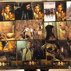Cine: THE MUMMY RETURNS (EL REGRESO DE LA MOMIA). SET COMPLETO CON 12 FOTOCROMOS. 2001.. Lote 219338260