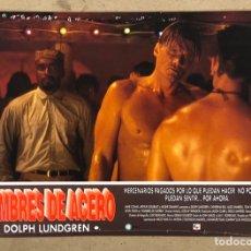 Cine: HOMBRES DE ACERO (1994). SET COMPLETO DE FOTOCROMOS. NUEVOS PRECINTADOS. DOLPH LUNDGREN. Lote 219407552