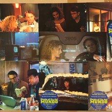 Cine: HASTA EL FIN DEL MUNDO (1991). SET COMPLETO CON 12 FOTOCROMOS. WIM WENDERS.. Lote 219412737