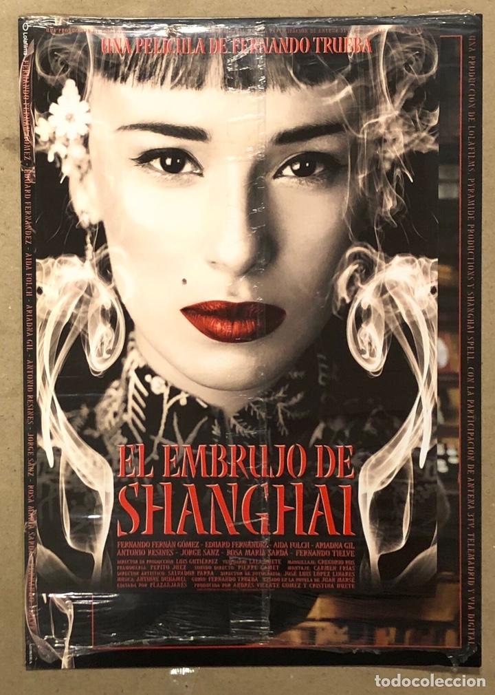 EL EMBRUJO DE SHANGHAI (2002). SET COMPLETO FOTOCROMOS. NUEVOS, CON PLÁSTICO PRECINTO. + GUÍA (Cine - Fotos, Fotocromos y Postales de Películas)