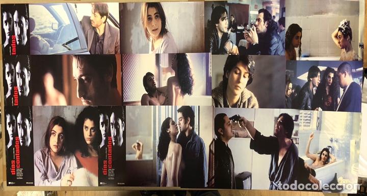 DÍAS CONTADOS (1994). SET COMPLETO DE 12 FOTOCROMOS. IMANOL URIBE, JAVIER BARDEM, RUTH GABRIEL,.. (Cine - Fotos, Fotocromos y Postales de Películas)