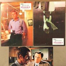Cine: BULLIT (1979). 3 FOTOCROMOS DE LA PELÍCULA. STEVE MC QUEEN, JACQUELINE BISSET,.... Lote 219487348