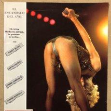 Cine: EN LA CAMA CON MADONNA (1991). FOTOCROMO PROMOCIONAL DEL DOCUMENTAL.. Lote 219496410