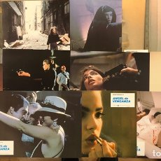 Cine: ÁNGEL DE VEGANZA (1981).. SET COMPLETO DE 12 FOTOCROMOS. ABEL FERRARA, ZOË LUND,.... Lote 219498596