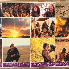 Cine: BAILANDO CON LOBOS (1990). SET COMPLETO CON 12 FOTOCROMOS. KEVIN COSTNER.. Lote 219515788