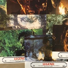 Cine: LEGEND (1985). SET COMPLETO CON 11 FOTOCROMOS. RIDLEY SCOTT, TOM CRUISE, MIA SARA,.... Lote 219529557