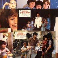 Cine: CHISPITA Y SUS GORILAS (1982). JUEGO COMPLETO DE 12 FOTOCROMOS. PIRAÑA, TITO, CHISPITA,.... Lote 219538653