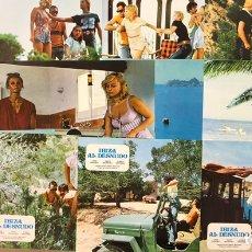 Cine: IBIZA AL DESNUDO (1982). JUEGO COMPLETO DE 12 FOTOCROMOS. CLASIFICADA S,. Lote 219544708