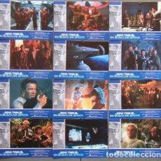 Cine: 4OT44D STAR TREK 3 EN BUSCA DE SPOCK SHATNER NIMOY SET COMPLETO 12 FOTOCROMOS ORIGINAL ESTRENO. Lote 219751593