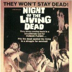 Cine: LA NOCHE DE LOS MUERTOS VIVIENTES - NIGHT OF THE LIVING DEAD. Lote 219961231