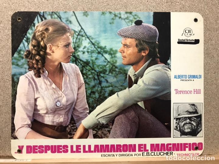 Cine: Y DESPUES LE LLAMARON EL MAGNIFICO, TERENCE HILL - SET 8 FOTOCROMOS DE CARTON - Foto 3 - 219977071