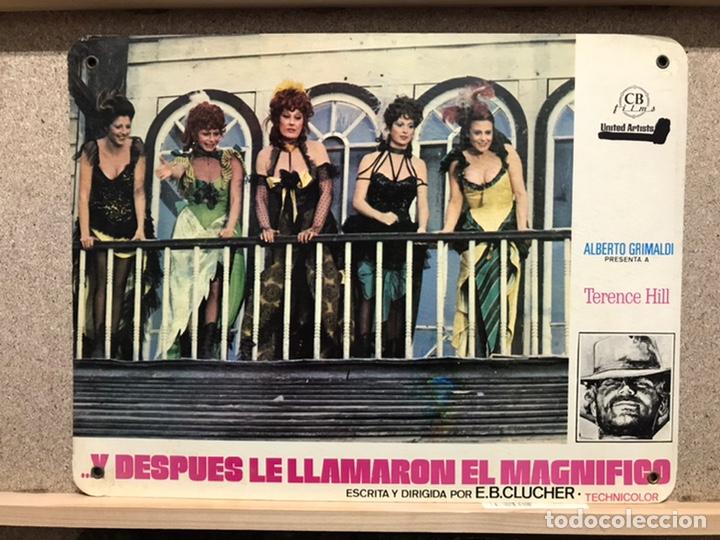Cine: Y DESPUES LE LLAMARON EL MAGNIFICO, TERENCE HILL - SET 8 FOTOCROMOS DE CARTON - Foto 5 - 219977071