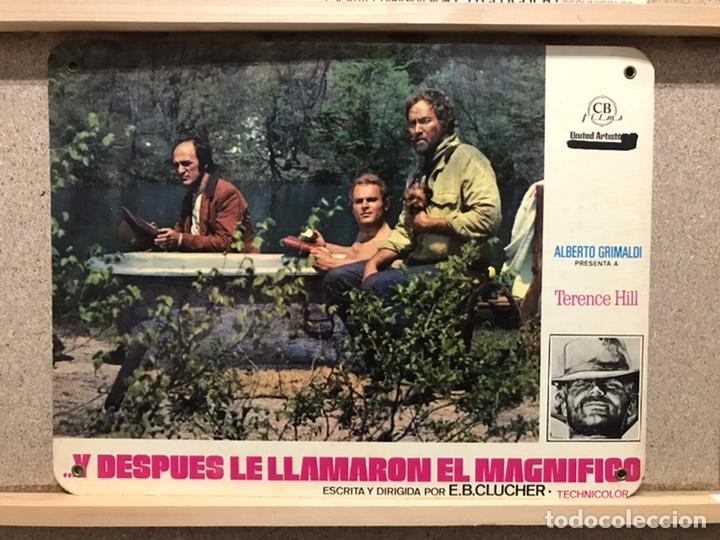 Cine: Y DESPUES LE LLAMARON EL MAGNIFICO, TERENCE HILL - SET 8 FOTOCROMOS DE CARTON - Foto 6 - 219977071