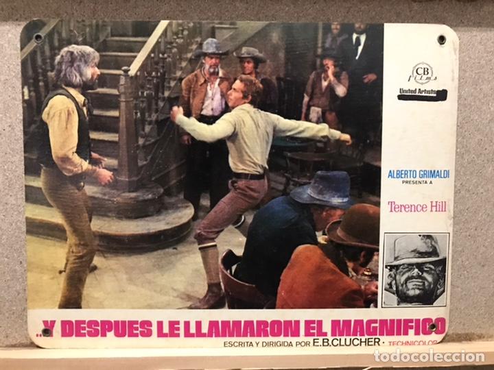 Cine: Y DESPUES LE LLAMARON EL MAGNIFICO, TERENCE HILL - SET 8 FOTOCROMOS DE CARTON - Foto 9 - 219977071