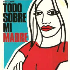 Cine: TODO SOBRE MI MADRE - ALMODOVAR. Lote 220140925