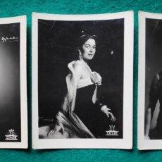 Cine: AURORA BAUTISTA FOTOGRAFÍA GYENES CINE CIFESA 1960. Lote 220188676