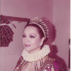 Cine: SARA MONTIEL. FOTOGRAFIA INÉDITA. 17,5X12,5 CM. BUEN ESTADO CON SIGNOS DE LA EDAD.. Lote 220967697