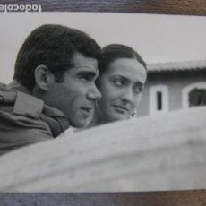 Cine: LA PIEL QUEMADA - FOTO ORIGINAL B/N - ANTONIO IRANZO MARTA MAY JOSEP MARIA FORN 12X17. Lote 221971023