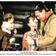 Cine: CLARK GABLE Y MARIA ELENA MARQUÉS - MÁS ALLÁ DEL MISSOURI - WILLIAM A. WELLMAN. Lote 222083333