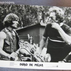 Cine: CLINT EASTWOOD - FOTO ORIGINAL B/N - DURO DE PELAR CLAY HODGES MOTORCYCLE. Lote 222121641