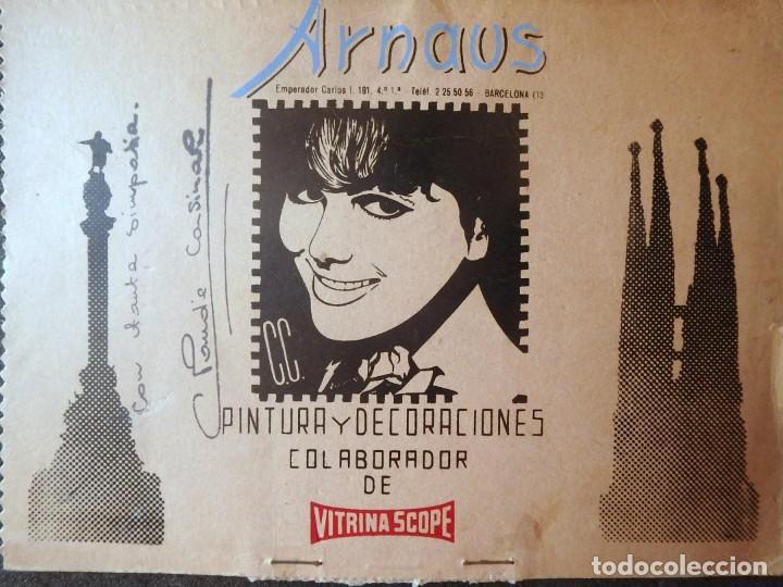 Cine: (JX-201083)Fotografia de Claudia Cardinale autografo y John Wayne(FABULOSO MUNDO DEL CIRCO) - Foto 4 - 222359875