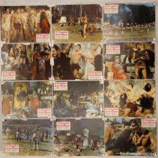 Cine: 12 FOTOCROMOS - EL VENGADOR DE LOS MAYAS -. Lote 222417541
