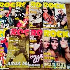 Cinéma: LOTE 8 REVISTAS THIS IS ROCK OPORTUNIDAD SCORPIONS AC / DC JUDAS U2 LED ZEPPELIN. Lote 222621470