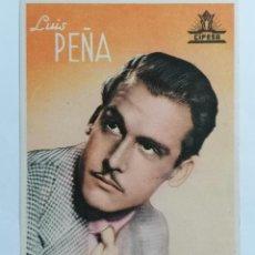 Cine: LUIS PEÑA - CIFESA, DEDICADA. Lote 222707346