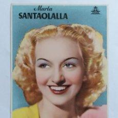 Cine: MARTA SANTAOLALLA - CIFESA, DEDICADA. Lote 222708787