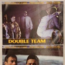 Cine: 2 FOTOCROMOS - DOUBLE TEAM - VAN DAMME. Lote 222741496