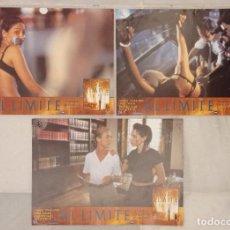 Cine: 3 FOTOCROMOS - AL LÍMITE -. Lote 222742640