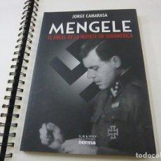 Cine: MENGELE . EL ANGEL DE LA MUERTE EN SUDAMERICA - JORGE CAMARASA - N 10. Lote 222801945