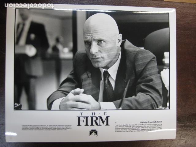 ED HARRIS - FOTO ORIGINAL B/N - THE FIRM LA TAPADERA (Cine - Fotos, Fotocromos y Postales de Películas)