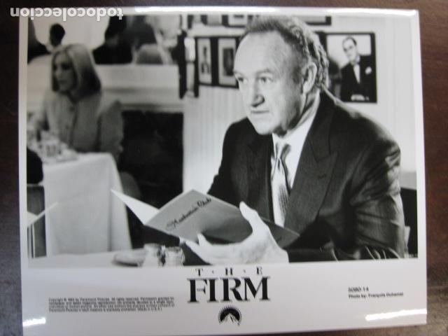 GENE HACKMAN - FOTO ORIGINAL B/N - THE FIRM LA TAPADERA (Cine - Fotos, Fotocromos y Postales de Películas)