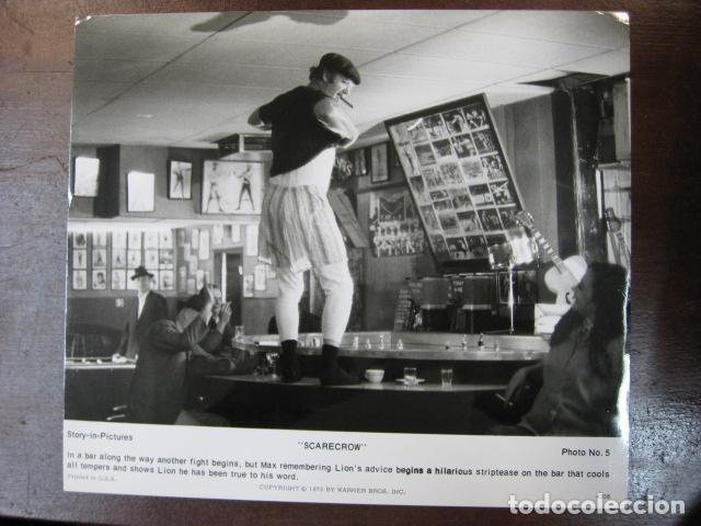 GENE HACKMAN - FOTO ORIGINAL B/N - SCARECROW ESPANTAPÁJAROS (Cine - Fotos, Fotocromos y Postales de Películas)
