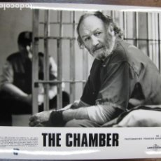 Cine: GENE HACKMAN - FOTO ORIGINAL B/N - THE CHAMBER CAMARA SELLADA. Lote 222838890
