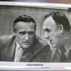 Cine: GENE HACKMAN - FOTO ORIGINAL B/N - HOOSIERS DENNIS HOPPER BALONCESTO. Lote 222839125