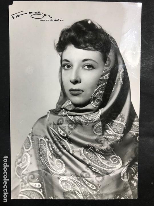 FOTO ORIGINAL DE MARÍA MARUJA ASQUERINO.FOTO VENEGAS MADRID (Cine - Fotos y Postales de Actores y Actrices)