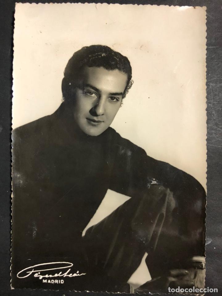 FOTO ORIGINAL DE ANTONIO CASADO CARACOLILLO.FOTO PEREZ DE LEON MADRID 18 X 12 CM (Cine - Fotos y Postales de Actores y Actrices)