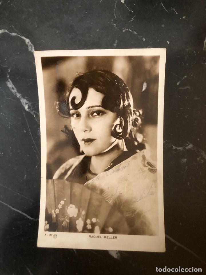 POSTAL RAQUEL MELLER. EDITORIAL FOTOGRÁFICA (Cine - Fotos y Postales de Actores y Actrices)