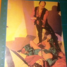 Cine: POSTAL ZINEBI BILBAO 43 2001 - EXPO LOS RITUALES DEL AMOR - DORIS KLOSTER. Lote 227753180