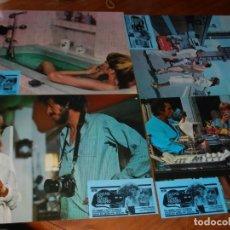 Cine: CAZAR UN GATO NEGRO - HELGA LINE, ROMERO MARCHENT - 12 FOTOCROMOS VER FOTOS. Lote 234123260