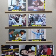 Cine: ROCKY II - SYLVESTER STALLONE - 9 FOTOCROMOS - AÑO 1979. Lote 234704460
