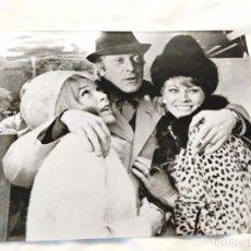 Cine: SHIRLEY MACLAINE, MICHAEL CAINE Y ANITA EKBERG, EN 'SIETE VECES MUJER' (1967). Lote 235114680