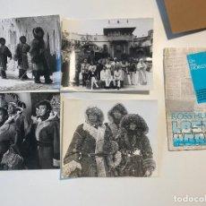 Cine: LOTE DE 4 FOTOGRAFÍAS DE ACTORES DE CINE , DE LA PELICULA LOST HORIZON. Lote 235124565