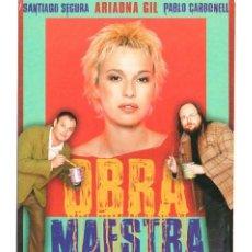 Cine: POSTAL PELICULA OBRA MAESTRA. DAVID TRUEBA. SANTIAGO SEGURA.ARIADNA GIL.PABLO CARBONELL.CINE ESPAÑOL. Lote 235857350