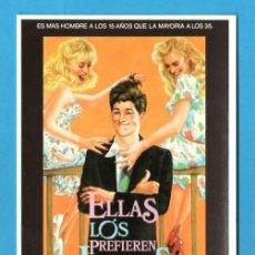 Cine: POSTAL PELICULA ELLAS LOS PREFIEREN JOVENES. LAUREN FILMS. CINE.. Lote 235858530