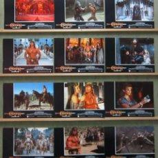 Cine: ZP71D CONAN EL DESTRUCTOR ARNOLD SCHWARZENEGGER SET COMPLETO 12 FOTOCROMOS ORIGINAL ESTRENO. Lote 236028670